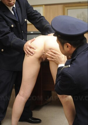 Art of Japanese cumming takes charming innocent babe to be punished by army fellas